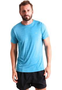 Camiseta Liquido Básica Mescla Boy - Turquesa P