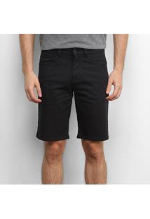 Bermuda Element Walk Essential Black Masculina - Masculino