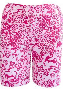 Shorts Pau A Pique Estampado Pink