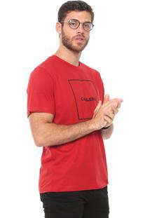 Camiseta Cavalera Quadrado Vermelha