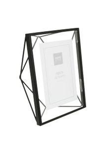 Porta-Retrato Prisma Preto 10 Cm X 15 Cm - Umbra