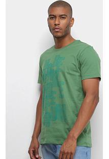 Camiseta Forum More Life Masculina - Masculino-Verde