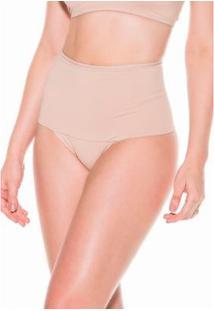 Calcinha Dukley Lingerie Redutora Slim - Feminino-Nude