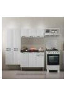 Cozinha Compacta Rose 10 Pt 1 Gv Branca