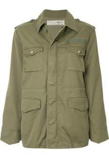 Tu Es Mon Trésor Jaqueta Militar - Green