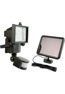 Refletor Solar 60 Leds Com Sensor De Presença - 9206 - Ecoforce - Ecoforce