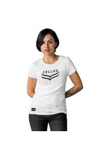 Camiseta Feminina Cellos Dawn Premium W Branco