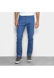 Calça Jeans Slim Forum Masculina - Masculino-Jeans