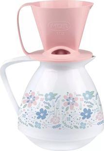 Bule Térmico Amare E Suporte Para Coador De Café - Amábile Rosa