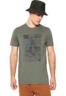 Camiseta Volcom Line Tone Verde