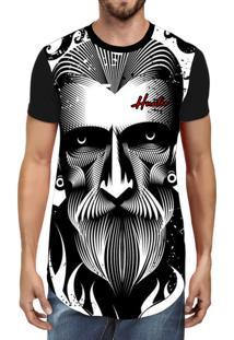 Camiseta Hunter Longline Fu2 Preta