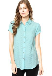 Camisa Mooncity Metal Azul