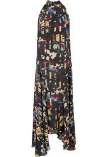 Bianca Spender Vestido Cdc Pirouette Floral - Estampado