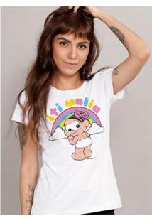 Camiseta Bandup! Turma Da Mônica It Malia - Feminino-Branco