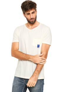 Camiseta Calvin Klein Jeans Lettering Off-White