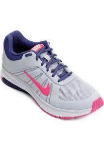 Tênis Nike Dart 12 Msl Feminino - Feminino-Cinza+Rosa