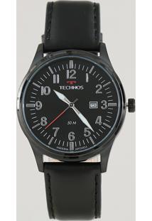 Relógio Analógico Technos Masculino - 2115Mtc2P Preto - Único