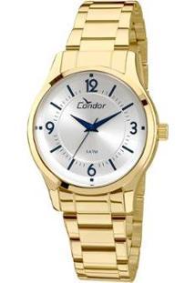 Relógio Condor Feminino Braceletes Coal2036Cn/4K - Dourado Coal2036Cn/4K - Feminino-Dourado
