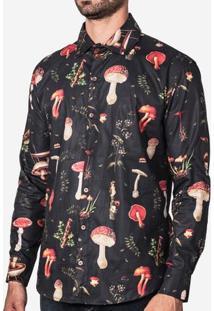 Camisa Cogumelos 200039
