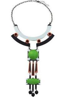 Colar Le Diamond Beatrice Feminino - Feminino-Verde