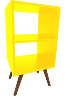 Estante Casa Da Mãe Joana Vertical Média Amarela