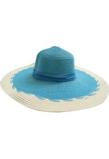 Chapéu De Palha Zohar Joice Azul