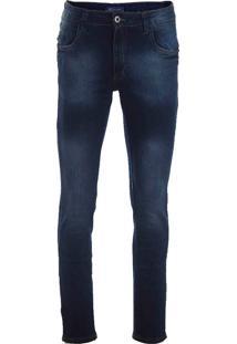 Calça Jeans Bolso Celular Masculina Max Denim