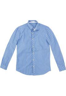 Camisa Slim Algodão Suave Malwee