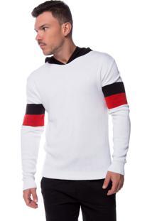 Blusa Zicão Tricot Basic Branca