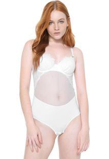 Body Calvin Klein Underwear Las Palmas Branca