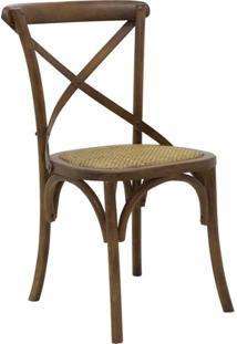 Cadeira De Jantar Katrina Madeira Escura