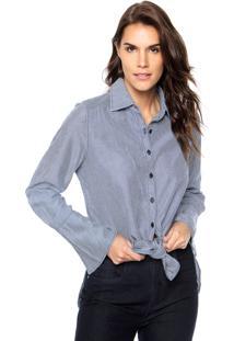 Camisa Jeans Lança Perfume Comfort Azul
