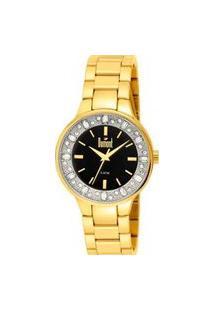 Relógio Feminino Analógico Dourado Dumont - Du2035Lqi/4P Dourado