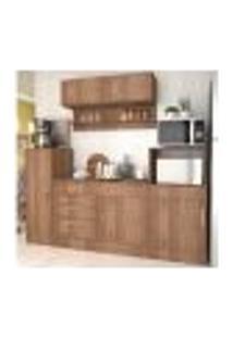 Cozinha Compacta 06 Portas Marajó Cj01 Montana Nova Mobile