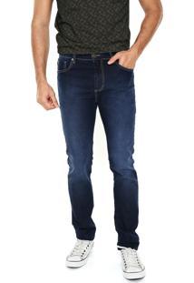 Calça Jeans Sommer Pespontos Azul