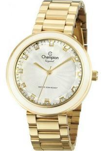Relógio Champion Crystal Cn29972H - Feminino-Incolor