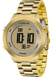 Relogio Lince - Sdph037L Kxkx Dourado