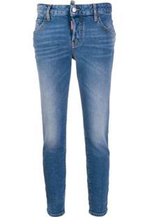 Dsquared2 Calça Jeans Skinny Cintura Alta - Azul