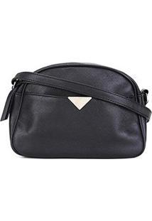 Bolsa Pagani Mini Bag Transversal Feminina - Feminino-Preto