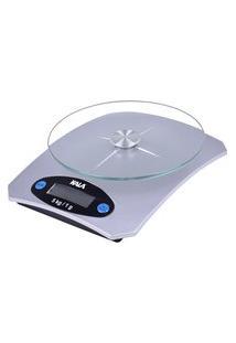 Balança Digital Para Cozinha Até 5Kg Kala Base Vidro Cinza