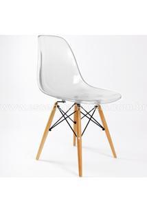 Cadeira Eames Dsw (Cores Transparentes) Transparente