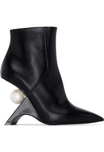 Nicholas Kirkwood Ankle Boot Jazzelle Com Salto 105Mm - Preto