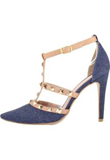 Scarpin Salto Alto Week Shoes Inspired Jeans Furtacor