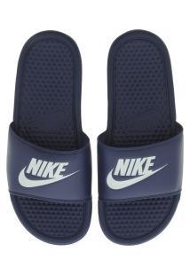Chinelo Nike Benassi Jdi - Slide - Masculino - Azul Esc/Azul Cla
