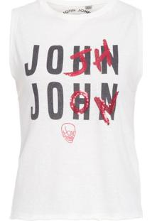 Regata Malha John John - Off White