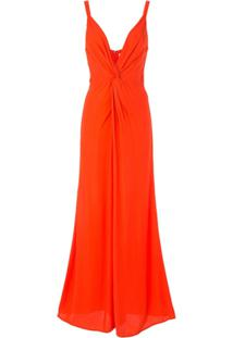 Ginger & Smart Orphic Twisted-Front Jumpsuit - Vermelho