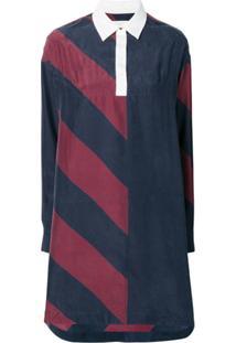Tommy Hilfiger Rugby Stripe Dress - Azul