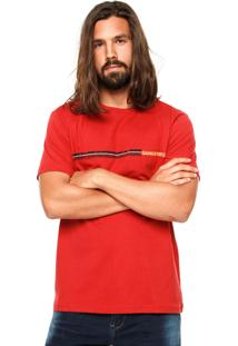 Camiseta Gangster Logo Vermelha