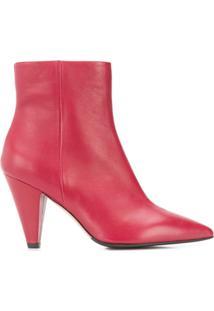 The Seller Ankle Boot - Vermelho