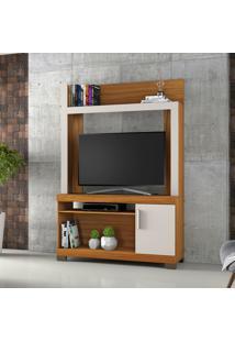 Estante Para Tv Até 43 Pol Notável Móveis Nt 1020 Com 1 Porta